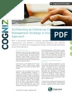 Architecting an Enterprise Content Management Strategy