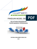 Panduan Model Desain Pelatihan Pendidikan