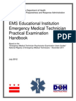 2012-0020 EMT Practical Exam Handbook