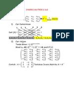 Invers Matriks 3x3