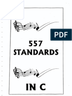 557 Jazz Standards Swing to Bop in c (Real Book, Sheet Music, Score)