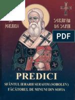 Sf. Serafim Sobolev - Predici