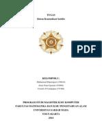 Tugas Kelompok Makalah Sistem Komunikasi Satelite