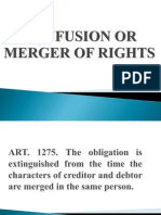Confusion or Merger of Rights(Powerpoint)