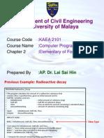 2 - Basic Fortran