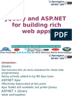 JQuery and Asp.Net Application Development
