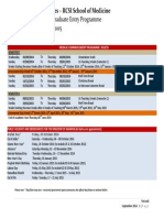 Academic Term Dates of SOM 2014-15