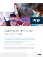 Avoiding Byo Policy and Security Pitfalls