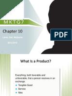 MKTG7 chapter10