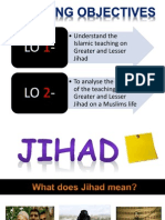 Greater and Lesser Jihad Powerpoint