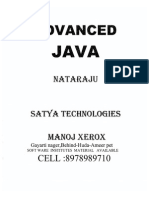 Advanced Java Notes by Nataraz Sir JavabynataraJ