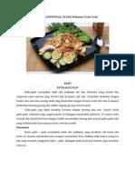 Contoh Proposal Usaha Makanan Gado-Gado
