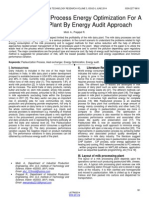 Pasteurization Process Energy Optimization for a Milk Dairy Plant by Energy Audit Approach