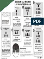 Posisi Imam Dan Makmum Dalam Shalat Berjamaah