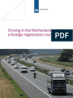 Car registration in the Netherlands