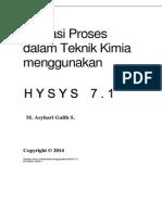 Modul HYSYS 7-1 tambahan - Ekstraksi Cair - Cair.pdf