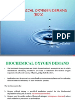 Biological Oxygen Demand Test  by APHA