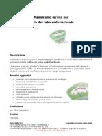 Manometro Monitoraggio Pressione Cuffia Tubo Endotracheale