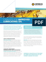 Catalysts for Improved Lubricating Oil