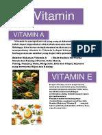 Vitamin a Merupakan Zat Yang Sangat Dibutuhkan Namun Tidak Dapat Diproduksi Oleh Tubuh Manusia Dari Dalam