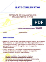 Lesson 6 - Corporate Communication and Organizational Change
