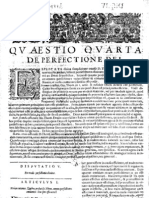 CT [1654 Ed.] t1 - 10 - Quaestio 4 + 5, De Perfectione Dei + de Bono in Communi