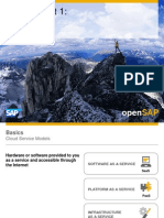 Open SAP HANACLOUD Introduction to SAP HANA Cloud Platform