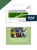 Presentación Libro_ESADE-PwC_Eficiencia para el Impacto Social