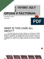 Oposa vs. Factoran 2