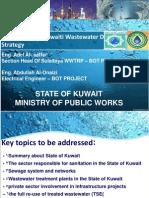 Kuwait Evaluating the Kuwaiti Wastewater Development Strategy