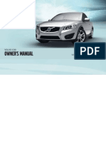 2012 Volvo C30 Owners Manual
