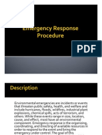 Emergency Response Procedure