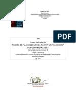 Reseña de la lengua de la radio y la televisión.pdf