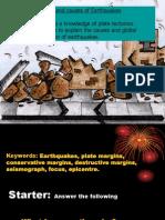 Earthquakes Lesson 1