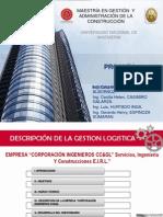 GESTIÓN LOGÍSTICA DE UNA EMPRESA CONSTRUCTORA