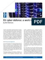 EU Cyber-Defence- A Work in Progress