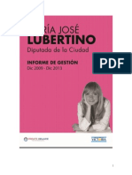 Informe de Gestión 2009 - 2013