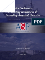 Africa – Promoting Investment and Extending America's Security
