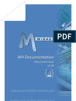 MIDAS API Documentation v2.00