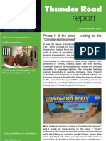 Thunder Road Report 18 17th December 2009