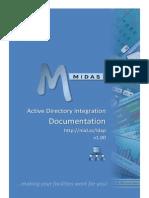 MIDAS LDAP Integration Guide v1.00