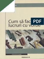 John L. Austin-Cum Sa Faci Lucruri Cu Vorbe-Paralela 45 (2005)