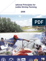 International Principles for Responsible Shrimp Farming-2006