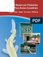 Status of Reservoir Fisheries in Five Asian Countries