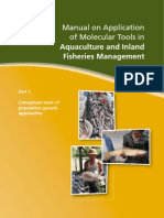 Manual on Application of Molecular Tools in Aquaculture and Inland Fisheries Management-I