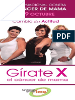 FLYER INFORMATIVO CAMPAÑA GIRATE X EL CÁNCER DE  MAMA