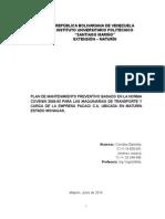 proyecto mantenimiento.doc