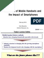 Evolution of Mobile Handsets