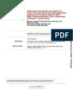 Infect. Immun. 2002 Pasetti 4009 18 salmonella typhi in human