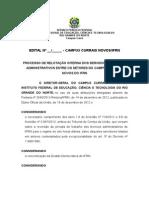 Edital de Relotação Interna - Campus Currais Novos - Modificado em 24.01.2014.doc